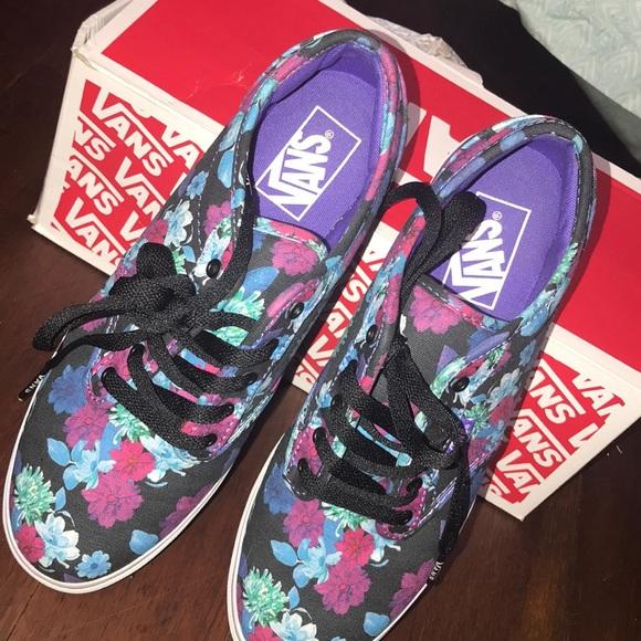 c9af1d39c165 Vans Shoes - Purple floral vans